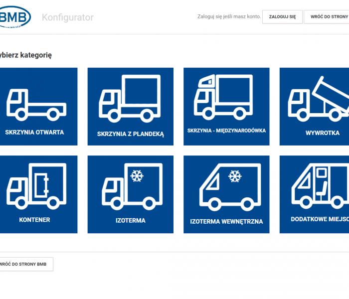 System szybkiego ofertowania dla kontrahentów BMB - sieci salonów samochodowych