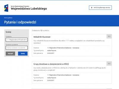 Dział pytań i odpowiedzi - rpo.lubelskie.pl